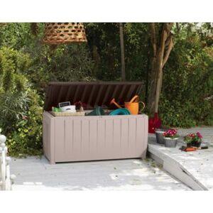 CHALET & JARDIN Coffre jardin de rangement avec assise 340l - Autres décoration et mobilier
