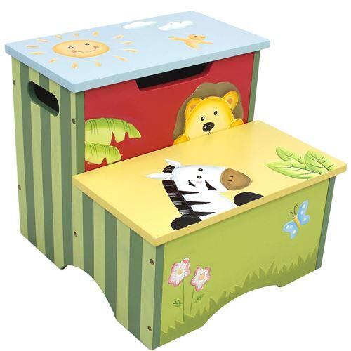 Non communiqué Tabouret marchepied pot chaise siège banc enfant table de jeu ou bureau W-8320A - Petit mobilier enfant