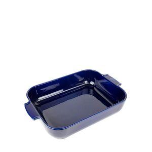 Peugeot - Plat four céramique rectangle bleu profond 40 cm - 16' - platerie, service