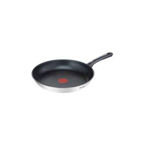 Tefal Poele Dailycook En Inox - O 28 Cm - Tous Feux Dont Induction - Casserolerie