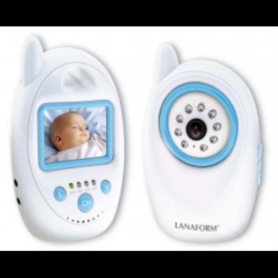 Lanaform Baby camera sans fil et infrarouge Lanaform - Babyphone