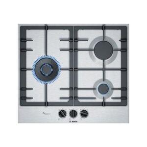 Bosch Serie 6 PCC6A5B90 table de cuisson au gaz - 60 cm - inox - inox - Plaque gaz