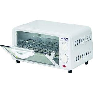 bastilipo Pisa – Mini Four Posable avec capacité de 9 l, grille auto amovible, 800 W, couleur blanc - Autres
