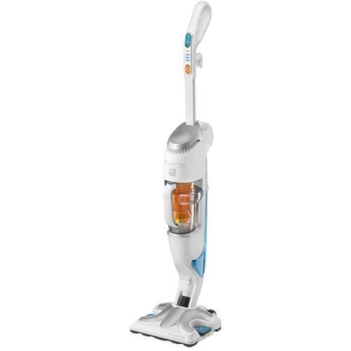 rowe aspirateur balai vapeur rowenta clean & steam ry7557wh 1700w blanc et argent - aspirateur balai