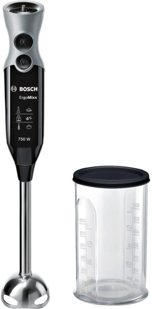 bosch msm67110 mixeur plongeant, 750 w, noir, acier inoxydable - autres