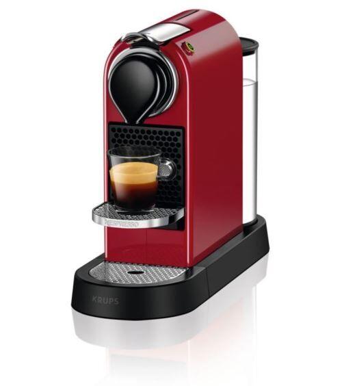 Krups Nespresso à capsules Krups YY4117FD 1260 W Rouge - Expresso