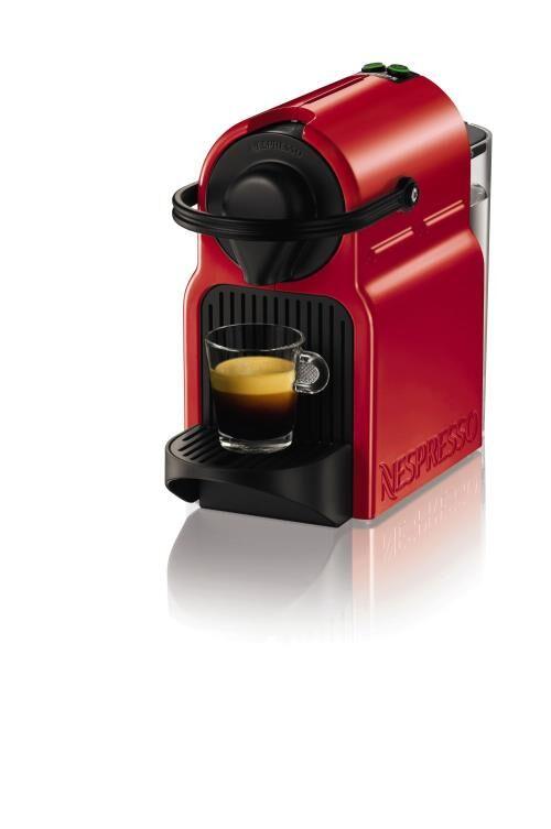 NEKR Expresso à capsules Krups Nespresso Inissia rouge YY1531 - Expresso
