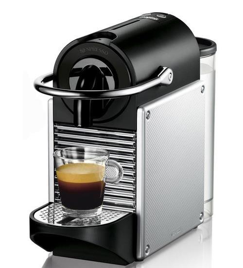 NESP Expresso à capsules Nespresso MagimixPixie 11322 Gris métal - Expresso