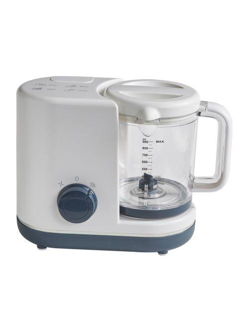 VERTBAUDET - Robot cuiseur vapeur/mixeur Magic Cooker 5 en 1 vertbaudet - Blanc/gris - TU - Robot préparation bébé