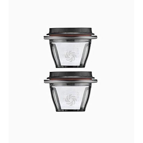 Vitamix - Ascent - Set de 2 bols avec couvercle - Extracteur de jus et centrifugeuse
