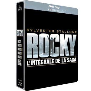 MGM/PFC Rocky - L'Anthologie Coffret 6 Blu-Ray Edition Steelbook Limitée - Blu-ray