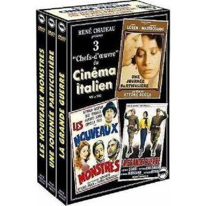 René Chateau Italien: Une journée particulière Les Nouveaux Monstres La strada DVD - DVD Zone 2