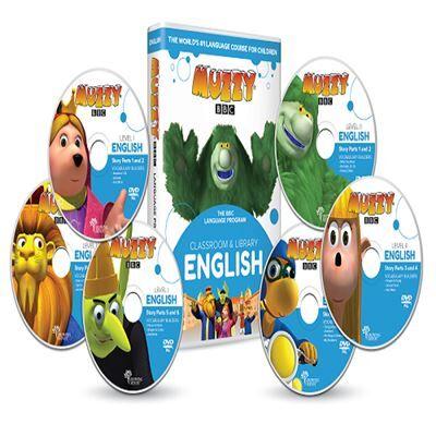 Bbc Muzzy BBC anglais pour enfants 6 DVD et Cours en ligne - Jeux et vidéos - Cours de langue de la BBC - Autres