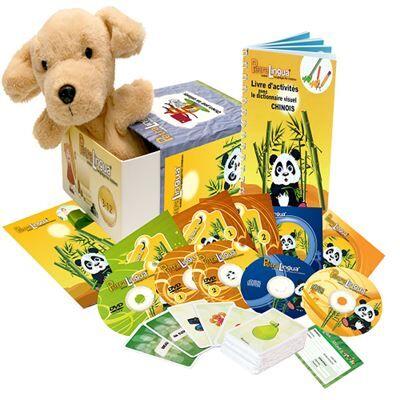 Petralingua Kit audiovisuel PetraLingua dvd-cd-livres chinois pour enfants et cours en ligne - Autres