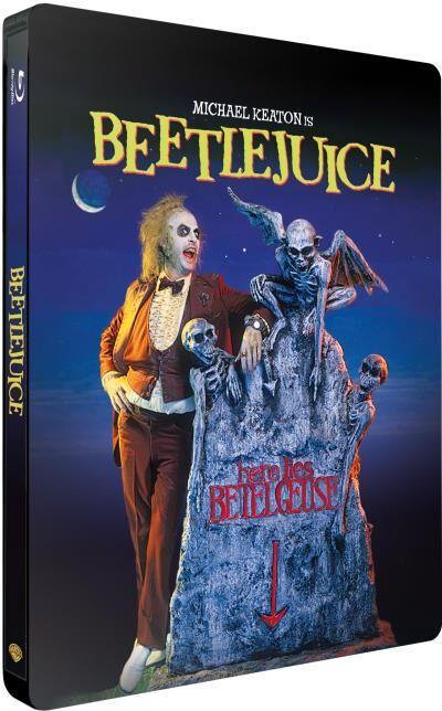 Warner Home Video Beetlejuice Steelbook DVD - Blu-ray