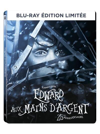 Edward aux mains d'argent Edition limitée 25ème anniversaire Pack métal Blu-ray + DHD - Blu-ray