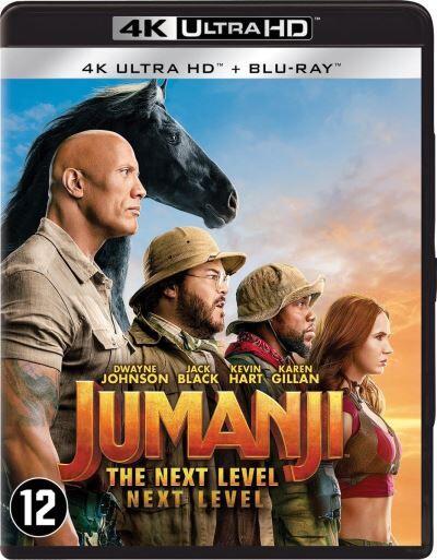 JUMANJI: THE NEXT LEVEL-BIL-BLURAY 4K - Blu-ray 4K