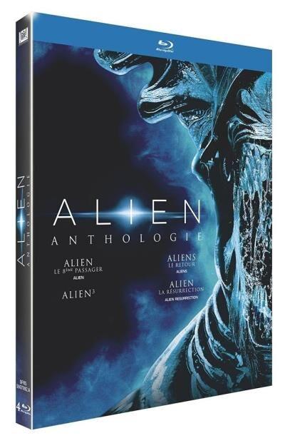 20th Century Fox Coffret Alien Anthologie Version 2016 4 films Blu-ray - Blu-ray