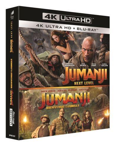 SPHE Coffret Jumanji Blu-ray 4K Ultra HD - Blu-ray 4K
