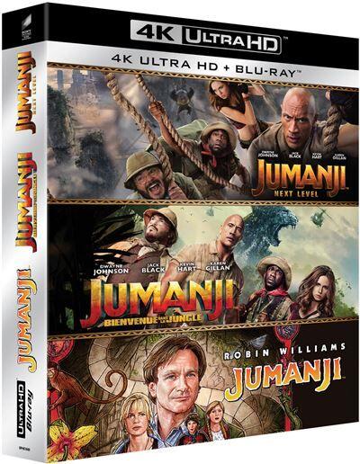 SPHE Coffret Jumanji Trilogie Blu-ray 4K Ultra HD - Blu-ray 4K