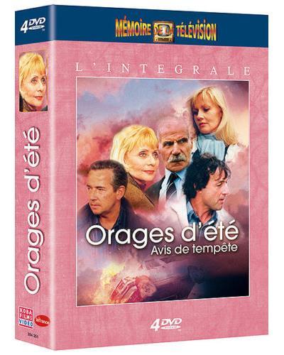 Koba films Orages d'éte - Avis de tempête - Coffret - DVD Zone 2