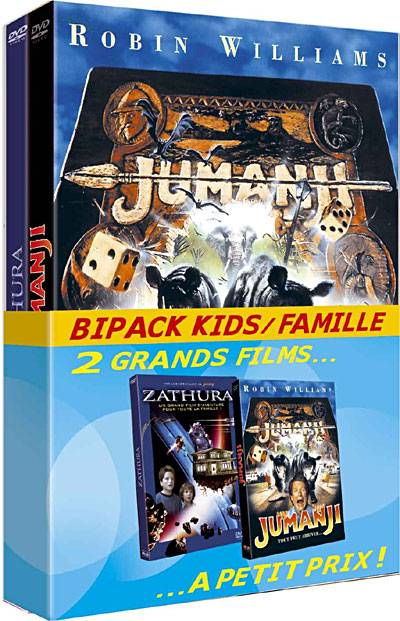 Jumanji - Zathura - Bipack - DVD Zone 2
