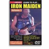 Roadrock Music Lick library learn to play iron maiden/vol2 - DVD Zone 2