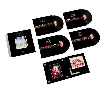 The Song Remains The Same Coffret Quadruple Vinyle Edition Deluxe - Vinyle album