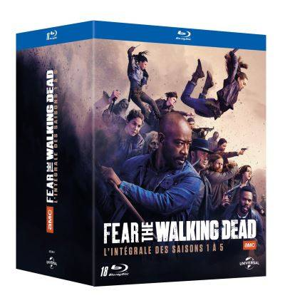 Universal Pictures Coffret Fear The Walking Dead Saisons 1 à 5 Blu-ray - Blu-ray