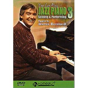 You Can Play Jazz Piano 3 - Soloing And Performing - DVD multizone