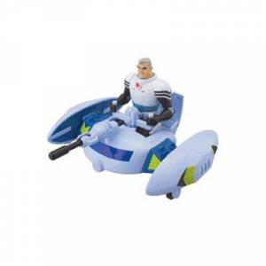 Bandaï - Ben 10 Ultimate Alien véhicule Max's Plumber Ship - Autres figurines et répliques