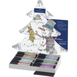 Faber-Castell Faber Castell FC-267112 Jeu de caractères Pitt Artist Pen Présentoir de Noël - Autres