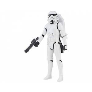 Star Wars SW FIG 30cm Force Tech Trooper NL, Noir, Blanc, 4 année(s), Plastique, Garçon-Fille, Bande dessinée, Action-Aventure - Autres figurines et répliques