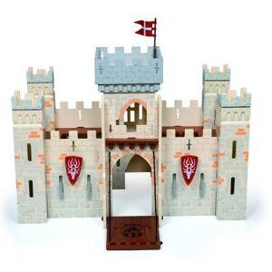 Papo Château des chevaliers en bois - Modulable - Petite Figurine