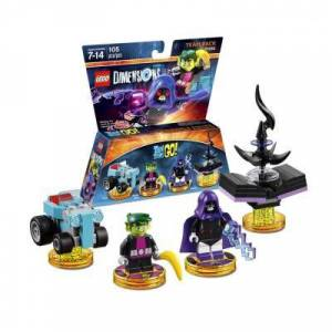 Logithéque Figurines Lego Dimensions Pack Equipe Teen Titans Go - Figurine