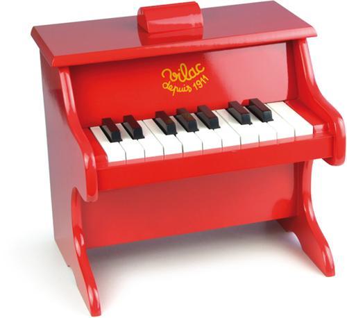 VLAC Vilac Piano Rouge 18 touches - Instrument de musique
