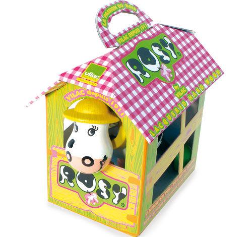 VLAC Vilac Rosy La Vache - Jouet à tirer ou à pousser