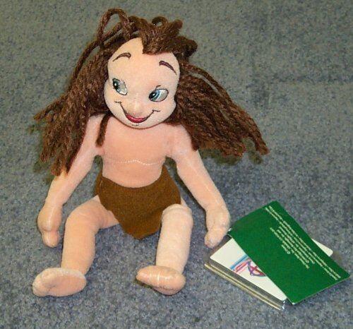 Disney Difficile à trouver Pouf Disney 9 en peluche Jeune poupée Tarzan - Animal en peluche
