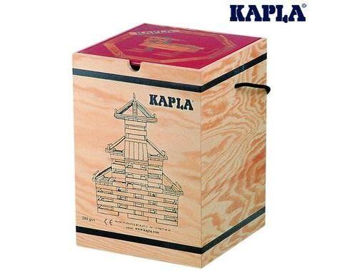 Kapla Mallette 280 Planchettes Naturel+ 1 Livre D'art - Autres jeux de construction