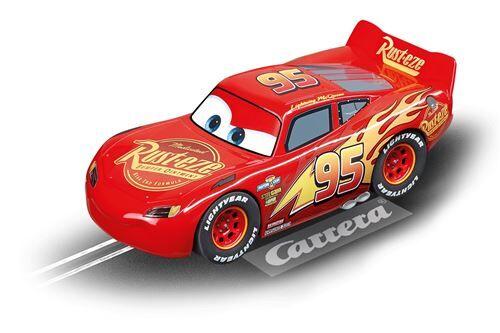 Carrera Digital 132 voiture d'hippodrome Disney Lightning McQueen rouge - Véhicule à pédale