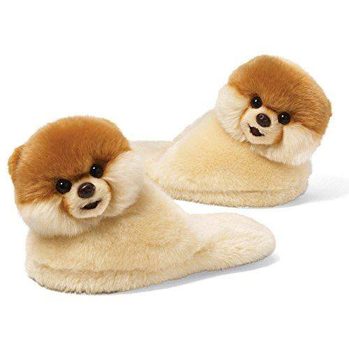 GUND Boo The Worlds Le plus mignon des chaussons taille 9 pour chien, enfant, taille unique - Ours en peluche