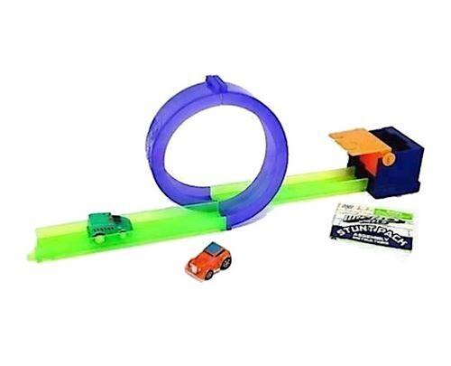 Splash Toys Micro Wheels ensemble hippodrome 5 pièces vert/violet - Circuit voitures