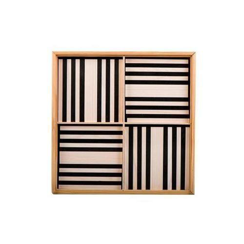 Kapla 100 planchettes - Noir et blanc Kapla - Autres jeux de construction