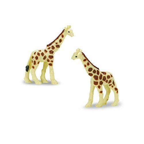 Safari Ltd. Good Luck Minis - Girafes - 192 Pièces - Construction de qualité en matériaux sans phtalate, sans plomb et sans BPA - Pour les 5 ans et plus - Autres figurines et répliques