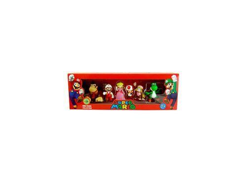 --- - Super Mario Bros. pack 6 figurines 6 cm Wave 3 - Autres figurines et répliques