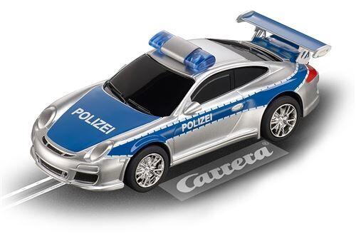Carrera Numérique 143 voiture hippodrome Porsche GT3 Politie - Circuit voitures