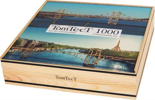 Kapla TOMTECT - Jeu de Construction en Bois - 1000 Pièces - Jeu Créatif - Dès 5 Ans - Stimule Concentration et Motricité - Ecologique - Autres jeux de construction