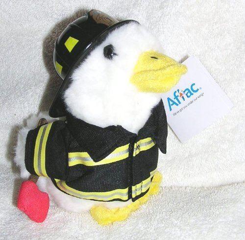 Non communiqué Difficile à trouver Parler 6 canard pompier Aflac en peluche - Poupée