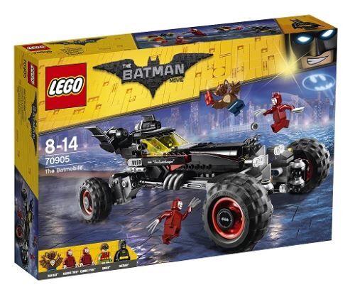 lego - 70905 - jeux de construction - the batmobile batman - lego