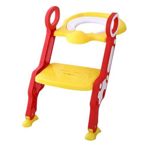 Toilette Bébé Enfant Petit Pot Siège Escabeau Échelle Chaise de Formation Réglable YEZB006 - Autre mobilier bébé